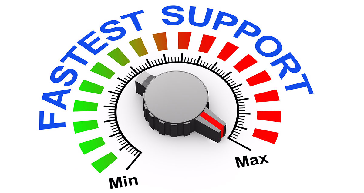 Fast IT response time is imporant